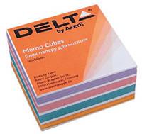 """Бумага для заметок не проклеенная, """"COLOR"""" 9*9 500 листов. Delta by Axent"""