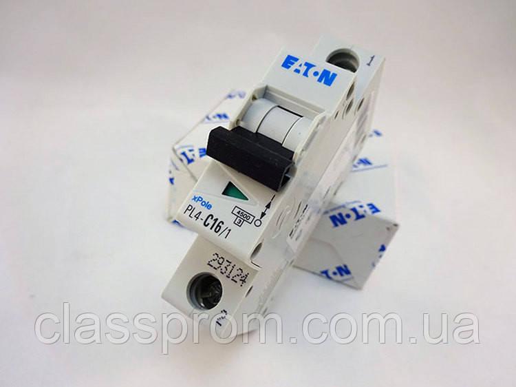 Автоматический выключатель PL4-C32/1 EATON