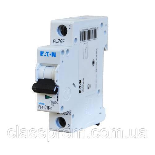 Автоматический выключатель PL4-C25/1 EATON