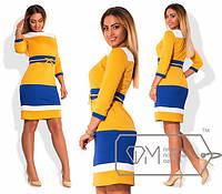 Модное женское платье в ассортименте в больших размерах о-202323