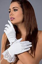 Белые перчатки Obsessive Etheria gloves
