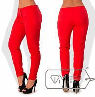 Женские осенние брюки со стрелками большого размера