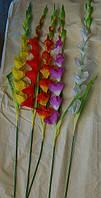 01-93 Цветы искусственные гладиолус 1 шт, фото 1