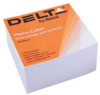 """Бумага для заметок не проклеенная, """"Белая"""" 9*9 500 листов. Delta by Axent"""