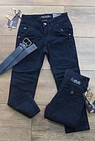 Котоновые брюки на мальчика Школа Размер 6 - 14 лет Разные цвета