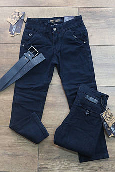 Котоновые брюки на мальчика Школа Размер 6 лет