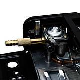 Плита газовая туристическая одноконфорочная пьезоподжиг под газовые баллоны бутан и пропан-бутан INTERTOOL GS-0001, фото 2