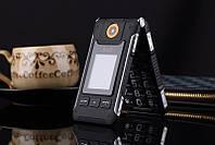 Раскладной противоударный защитный телефон Land Rover Dbeif V11 на 2 сим-карты с батареей 3800Mah