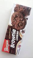 Печенье шоколадное Bergen с кусочками шоколада Польша 126г