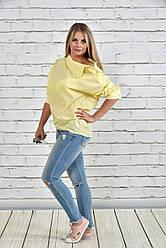 Блузка женская большого размера