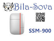 Датчик размыкания (открытия) беспроводной SSM-900, радио-канальный, 433 МГц, Tesla Security