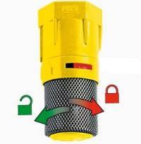 Фильтр донный с клапаном с блокировкой