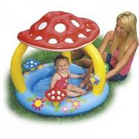 Детский надувной бассейн «Грибочек» Intex 57407 (102х89 см.)