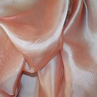Тюль Микровуаль Семия розовый коралл, однотонная + высококачественный пошив