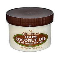 Натуральное кокосовое масло для волос и тела COCOCARE 100% coconut oil