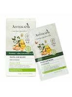 Маска для волос питательная Репейник + яйцо и витамины А, Е Аптекарь