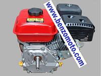 Двигатель бензогенератора 2.0 - 2,5квт, 6.5л.с. коленвал - конус