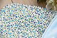 Велюровый набор на выписку из роддома Винтаж голубой, фото 5