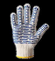 """Перчатки рабочие. Перчатки трикотажные с ПВХ точкой """"Волна"""", Doloni, №621"""
