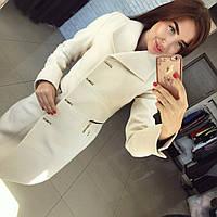 Пальто женское Сабрина молоко , магазин пальто