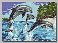 Схема для вышивки бисером Пальмовый рай
