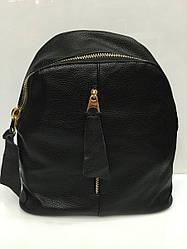 Рюкзак с вертикальной змейкой-карманом, чёрного цвета