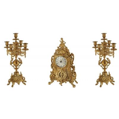 Stilars 1813 Часы + 2 подсвечника