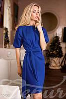 Платье с поясом, рукав фонарик, фото 1