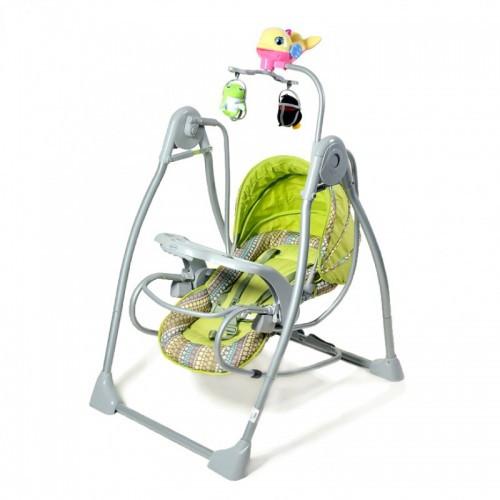 Шезлонг для новорожденных TILLY BT-SC-0003 зеленый