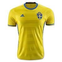 Футбольная форма Cб. Швеции ЧЕ 2016 домашняя