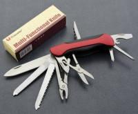 Мульті інструмент Traveler 06111-11 Багатофункціональний ніж для туризму