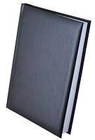 """Ежедневник недатированный """"EXPERT"""" (150*205 мм) 288 листа, линия, бумвинил черный. BuroMax"""