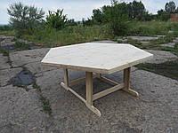 Деревянный стол, купить, стол из дерева, для беседки, мебель., фото 1
