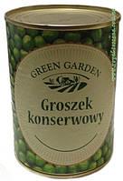Горошек зеленый консервированный Green Garden 400г