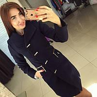Пальто женское Сабрина черное , одежда женская