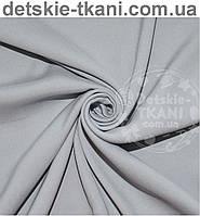 Ткань однотонная хлопковая Mist серого цвета ( № 543м)