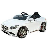 Электромобиль Bambi Mercedes M 2797 EBR-1 Белый  (кожа)