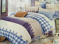Постельное белье из хлопка East Comfort (клетка)