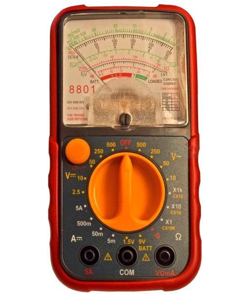 Мультиметр стрелочный 8801