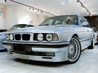 Губа накладка передняя обвес BMW E34 стиль Alpina