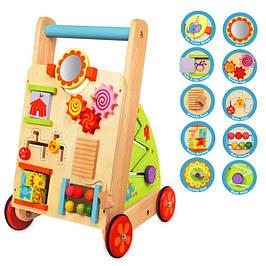 Розвивающие игрушки, модули, ходунки