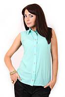 Блуза 336 - мята: 42,44,46,48