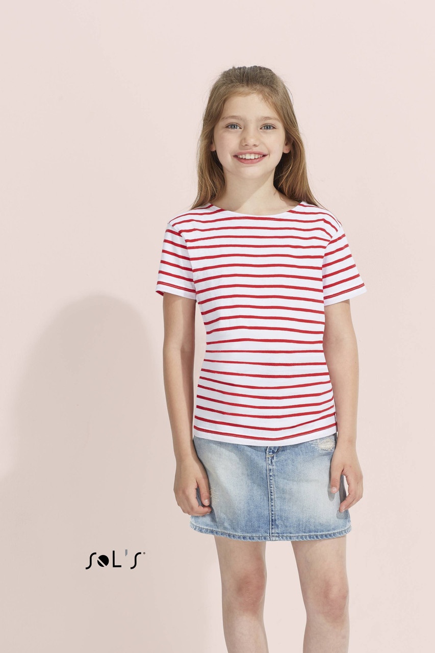 Детская футболка  Sols Miles Kids