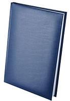 """Ежедневник недатированный """"EXPERT"""" (150*205 мм) 288 листа, линия, бумвинил синий. BuroMax"""
