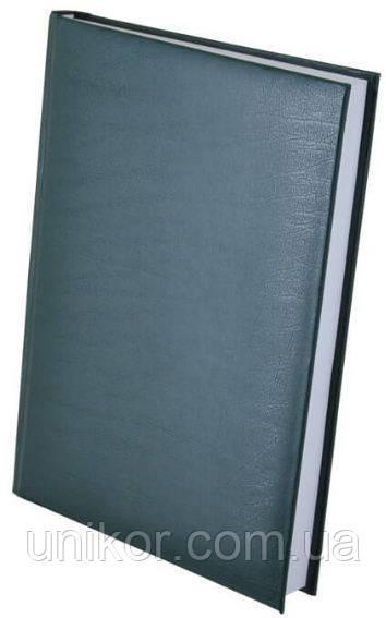 """Щоденник недатований """"EXPERT"""" (150*205 мм) 288 листа, лінія, бумвініл зелений. BuroMax"""