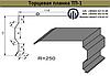 Торцевая планка (ветровая) ТП-1 оцинкованная