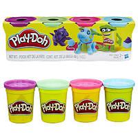 Набор пластилина Play-Doh 4 цвета общим весом 448 грамм (Домашние питомцы). Оригинал Hasbro
