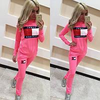 Спортивный костюм женский Тони розовый , спортивные костюмы