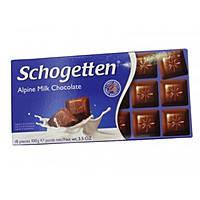 Шоколад молочный Schogеtten Alpine milk chocolate 100 г