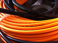 Теплый пол в коридоре (кабельная система обогрева) 4.9 м.кв